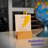 Plantable Seed  Paper Desktop Calendars 2021
