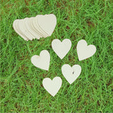 Heart shape plantable paper tags