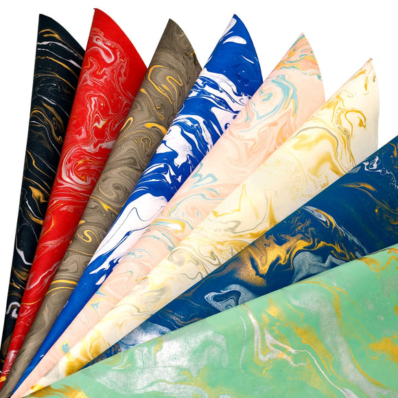 Eco-friendly Marble Design handmade paper made from cotton rags and marbling use for paper bags gift wrapping paper diaries covers envelopes corporate events