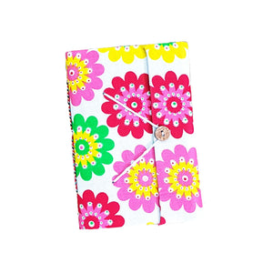 Fabric Cover Handmade Paper Diary