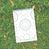 Plantable Notepad with wiro binding with branding printing suitable for conference and corporate event and school stationery