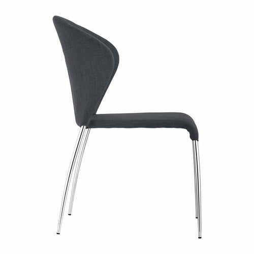 4 Pcs Graphite Dining Chair - House Of Racha