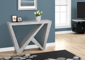 CEMENT INSPIRED HALL CONSOLE ACCENT TABLE - House Of Racha