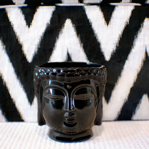 Black Buddha 3-Wick Scented Candle