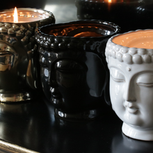 Load image into Gallery viewer, Black Buddha 3-Wick Scented Candle