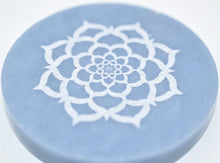 Load image into Gallery viewer, Angelite Lotus Flower Incense Holder