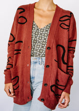 Load image into Gallery viewer, Snake Hemp Cardigan