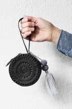 Load image into Gallery viewer, Embossed Leather Wristlet