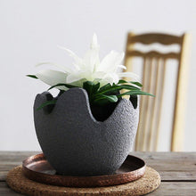 Load image into Gallery viewer, Handmade Ceramic Eggshell Flower Pot - House Of Racha
