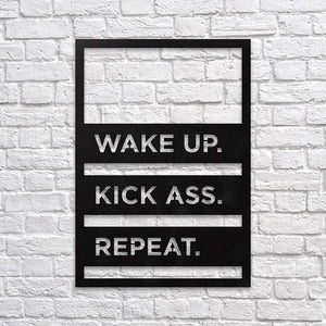 Wake up - Metal Wall Art