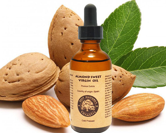 Almond Sweet Virgin Oil Organic (Cold Pressed) - House Of Racha