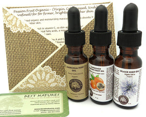 3 Oils Organic Personalized Gift - House Of Racha