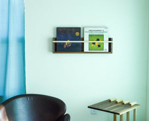 Modern Magazine & Vinyl Wall Rack - House Of Racha