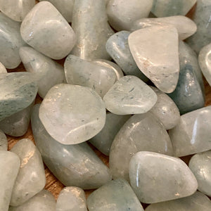 Light Green Aventurine Tumbled Healing Stone
