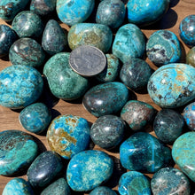 Load image into Gallery viewer, Chrysocolla Tumbled Healing Stone