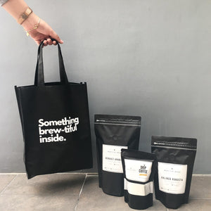 Something Brew-tiful Inside Eco Bag