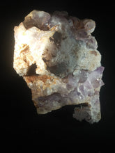 Load image into Gallery viewer, Natural Large Amethyst Cluster with Tangerine Hue