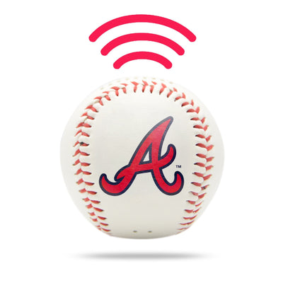 Atlanta Braves Baseball Bluetooth Speaker - NIMA Speakers
