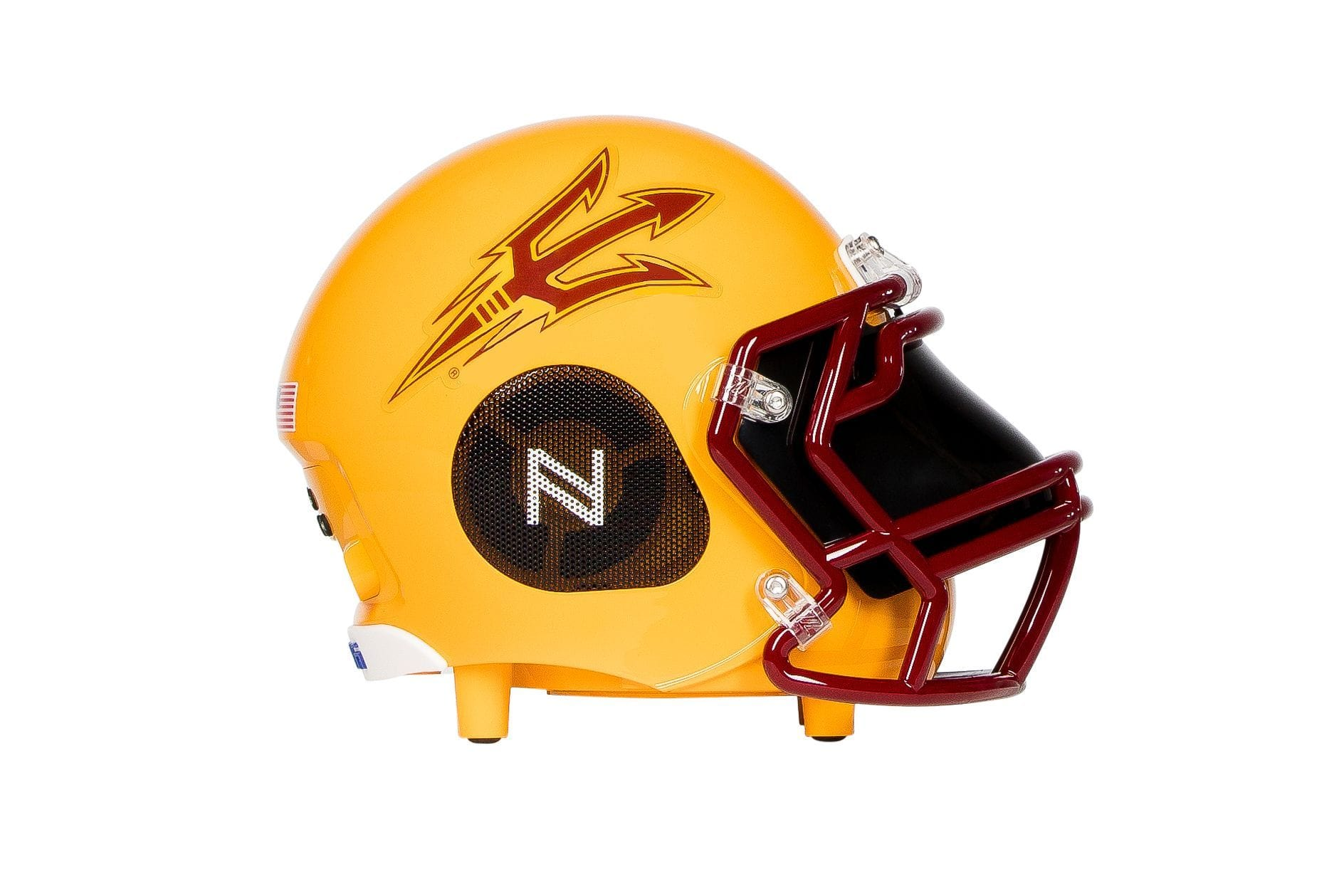 Arizona State  Sun Devils Bluetooth  Speaker Helmet - NIMA Speakers
