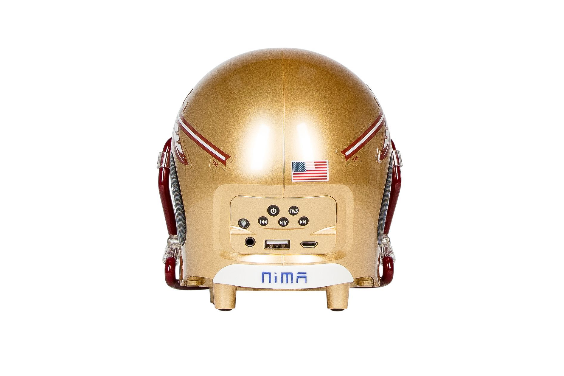 Florida State Seminoles Bluetooth Speaker Helmet - NIMA Speakers
