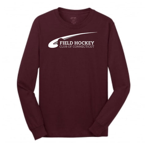 FHCC Long Sleeve Maroon Tee