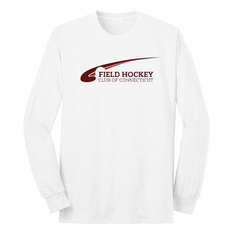 FHCC Long Sleeve White Tee