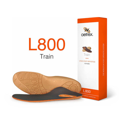 Aetrex Men's L800 Train Orthotics - Insole for Exercise