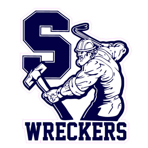 Staples Fanwear Wreckers Sticker