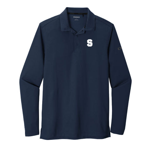Staples Faculty Men's Longsleeve Polo