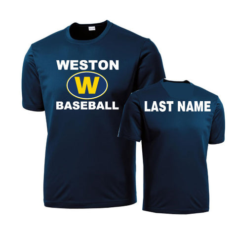 Weston Baseball Performance Short Sleeve