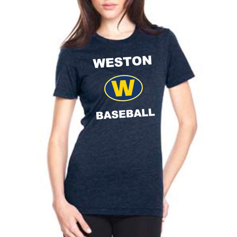 Weston Baseball Ladies CVC T Shirt