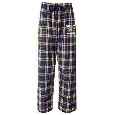 Weston Baseball Flannel Pants