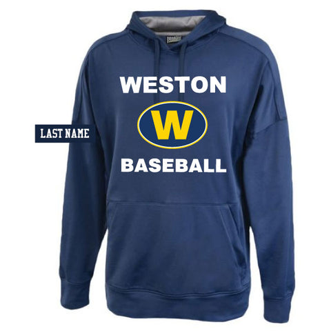 Weston Baseball Hooded Performance Sweatshirt