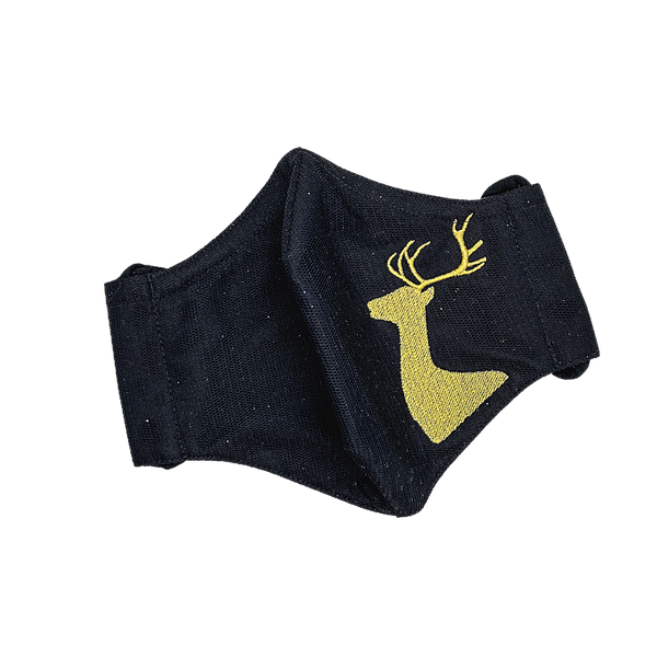 CHRISTMAS 🎄 / REINDEER (BLACK/ GOLD)
