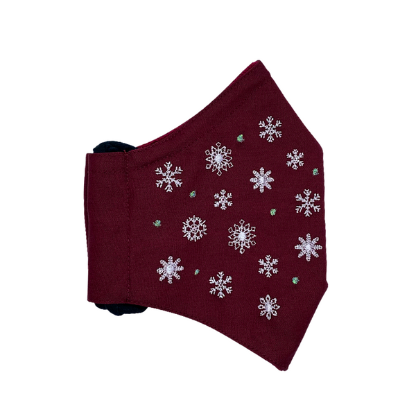 CHRISTMAS 🎄 / IT'S SNOWING (MAROON)
