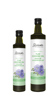 ORGANIC FLAX COOKING OIL