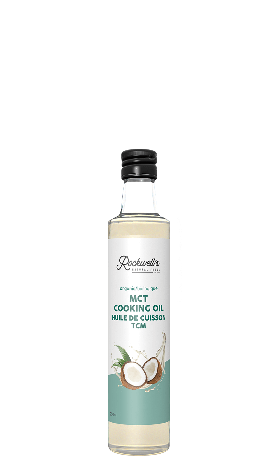 ORGANIC MCT COOKING OIL