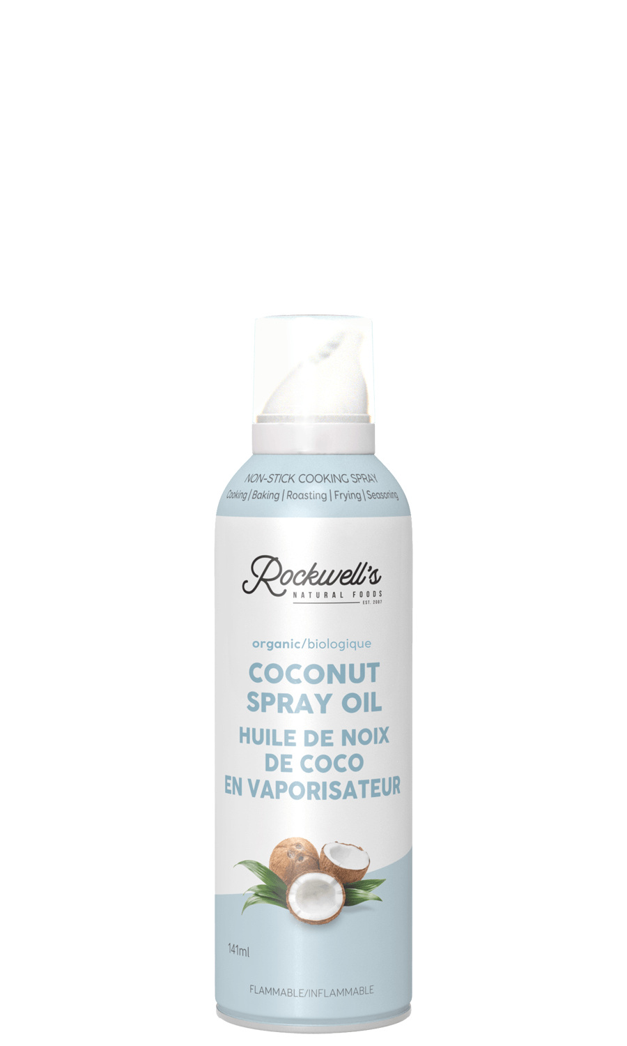 ORGANIC COCONUT SPRAY OIL