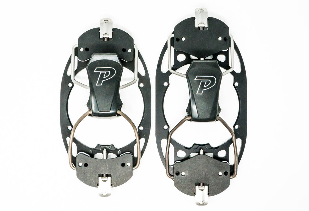 Small/Medium and Large/ Extra Large M6 bindings side by side