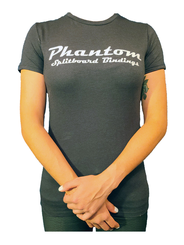Phantom T-shirt Womens Charcoal