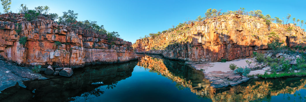 Reflections on Manning Gorge
