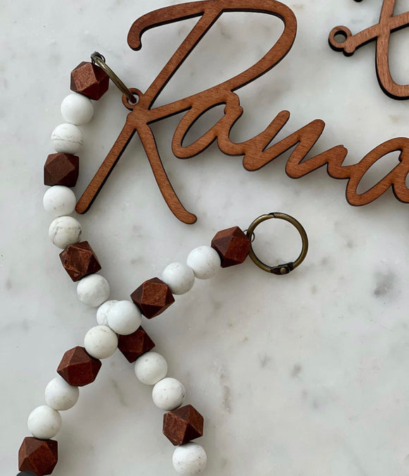 Marble beads only for Ramadan Garland