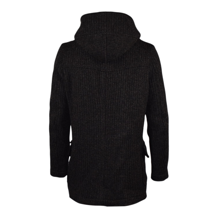 Hooded Sweater Coat