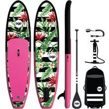 Load image into Gallery viewer, POP Royal Hawaiian Inflatable SUP Board