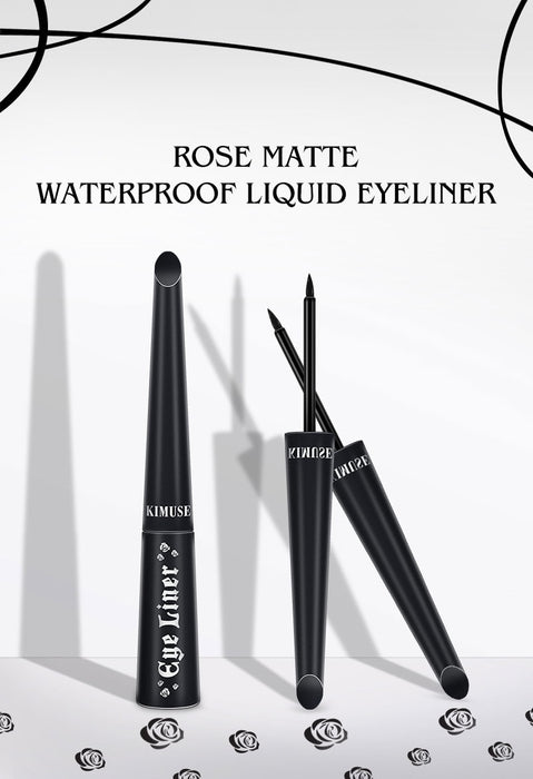KIMUSE-Rose Matte Waterproof Liquid Eyeliner