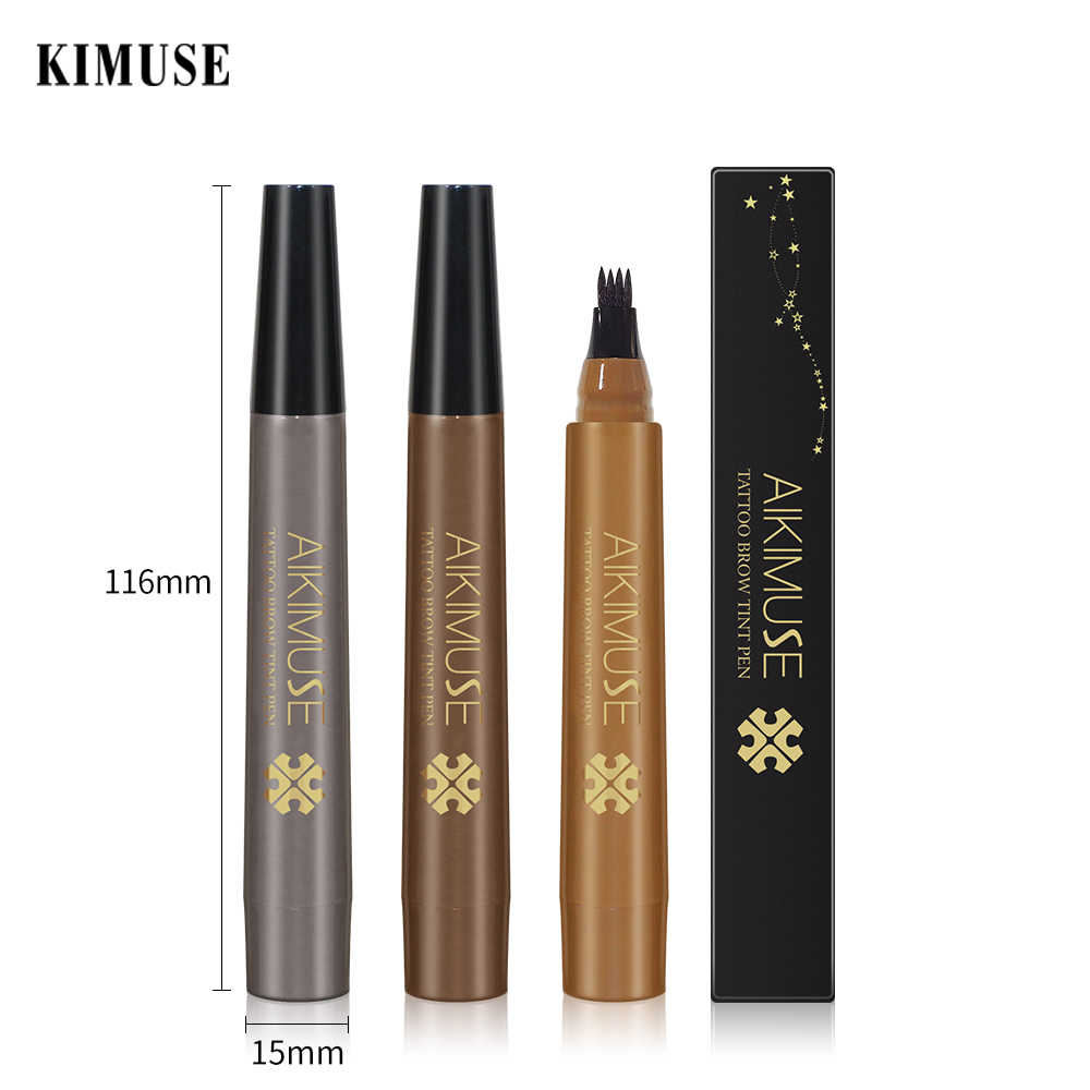 KIMUSE-4 Colors Eyebrow Gel Fork