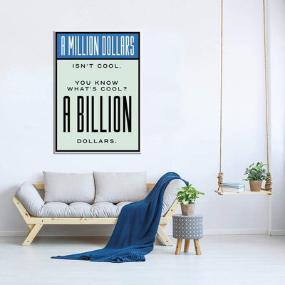 A Billion Dollars - PICTA DESIGN