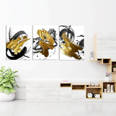 Abstract Gold - PICTA DESIGN