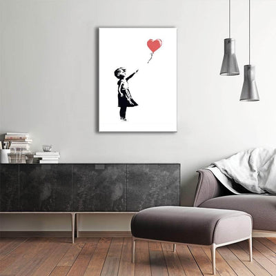 Picta Design Great Artists Banksy Balloon