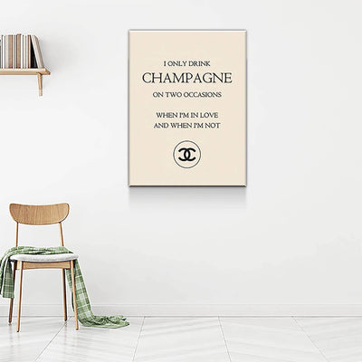 Chanel Champagne - PICTA DESIGN